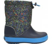 Crocs™ Kids' Crocband LodgePoint Graphic Boot