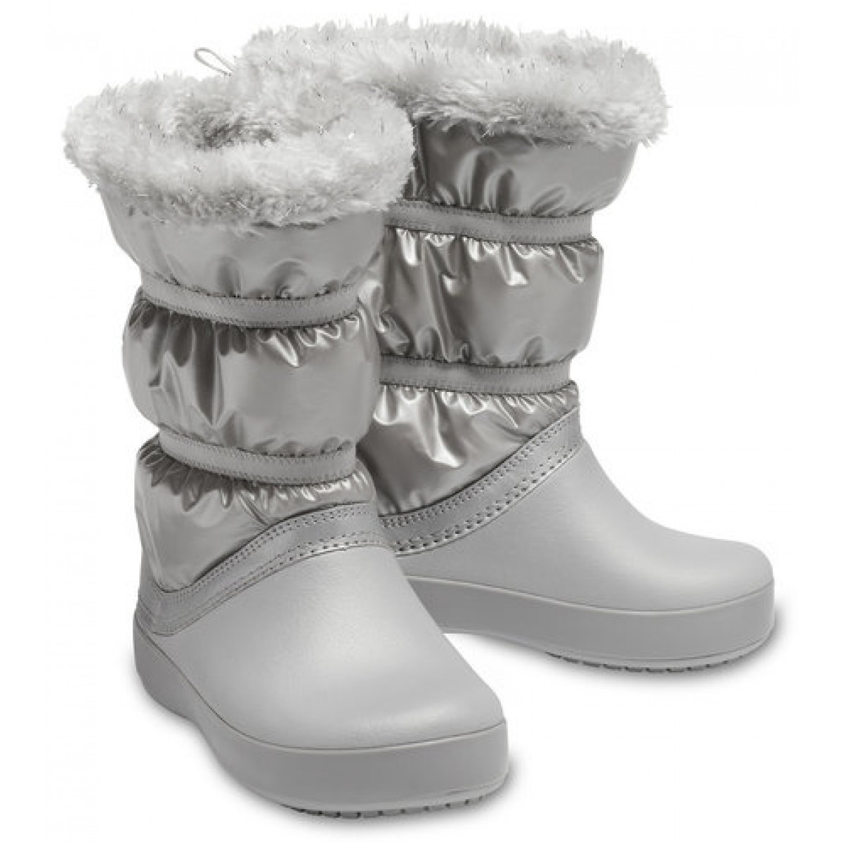 Crocs™ Crocband LodgePoint Metallic  Girl's Boot