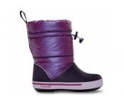 Crocs™ Kids' Crocband Gust Boot Iridescent